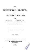 the edinburgh review  or critical journal  for july  1853     october  1853