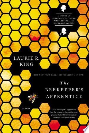 The Beekeeper's Apprentice banner backdrop
