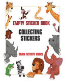 Empty Sticker Book   Collecting Stickers