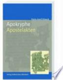 Apokryphe Apostelakten