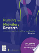 Nursing And Midwifery Research Book PDF