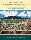 Documents of the Coronado Expedition  1539 1542
