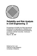 Reliability and Risk Analysis in Civil Engineering