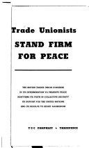 Trade Unionists Stand Firm for Peace
