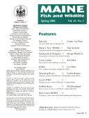 Maine Fish and Wildlife
