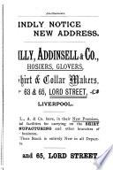Calendar For The Session 1887 88