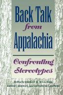 Back Talk from Appalachia