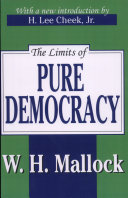 Pdf The Limits of Pure Democracy