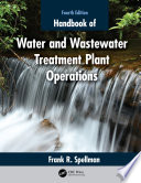 Handbook of Water and Wastewater Treatment Plant Operations Book