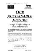 Our Sustainable Future