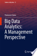 Big Data Analytics  A Management Perspective
