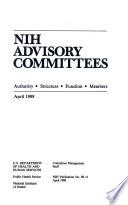 NIH Advisory Committees