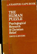 The human puzzle: psychological research and Christian belief