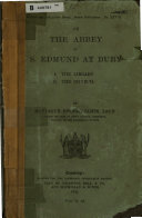 On the Abbey of S  Edmund at Bury