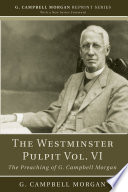 The Westminster Pulpit vol  VI