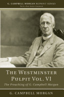 The Westminster Pulpit vol. VI Pdf/ePub eBook