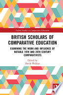 British Scholars of Comparative Education