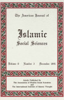 American Journal of Islamic Social Sciences 8 3