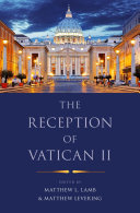 The Reception of Vatican II [Pdf/ePub] eBook