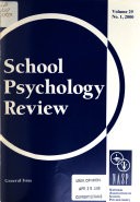 School Psychology Review