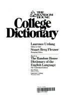 Random House College Edition Dictionary Book