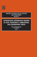 Comparative Governance Reform In Asia