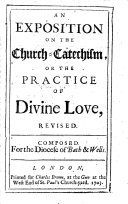 An Exposition on the Church-catechism