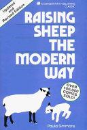 Raising Sheep the Modern Way Book