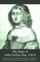 The Diary of John Evelyn  Esq   F R S