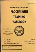 Department of Defense Procurement Training Handbook