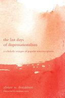 The Last Days of Dispensationalism
