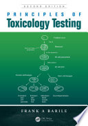 Principles of Toxicology Testing Book