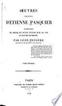 Œuvres choisies d'Étienne Pasquier