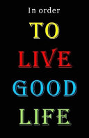 To Live Good Life Book PDF