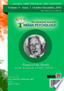 The International Journal Of Indian Psychology Volume 4 Issue 1 No 83