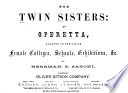 The Twin Sisters Book