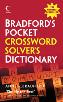 Bradford s Pocket Crossword Solver s Dictionary