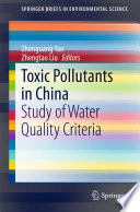 Toxic Pollutants in China Book