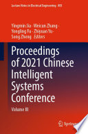 Proceedings of 2021 Chinese Intelligent Systems Conference