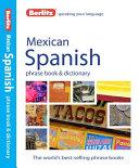 Berlitz Mexican Spanish Phrase Book   Dictionary