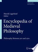 Read Online Encyclopedia of Medieval Philosophy For Free