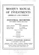 Pdf Moody's Industrial Manual