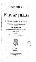 Derrotero de las islas Antillas y de las costas orientales de América