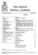 New Zealand Dental Journal