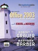 Exploring Microsoft Office 2003