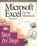 Microsoft Excel for the Macintosh  Version 4