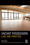 Vacant Possession Pdf