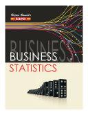 Business Statistics by Dr  V  C  Sinha  Dr  Alok Gupta  Dr  Jitendra Kumar Saxena  SBPD Publications