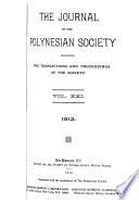 Journal of the Polynesian Society