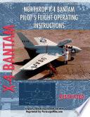 Northrop X-4 Bantam Pilot's Flight Operating Instructions